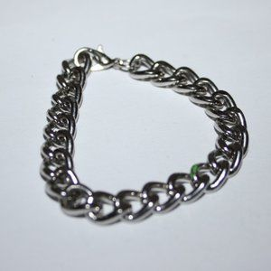 """Heavy silver bracelet for charms 5.75"""""""